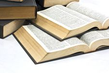 Free Pile Of Books Royalty Free Stock Photo - 20585045