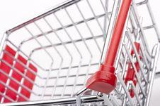 Free Empty Shopping Cart Royalty Free Stock Photo - 20585125