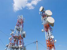 Free Telecommunication Antenna Stock Photography - 20585312