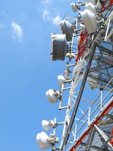 Free Telecommunication Antenna Royalty Free Stock Photos - 20585348
