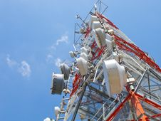 Free Telecommunication Antenna Royalty Free Stock Image - 20585356