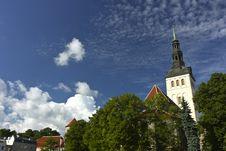 Free Tallinn Royalty Free Stock Image - 20585376