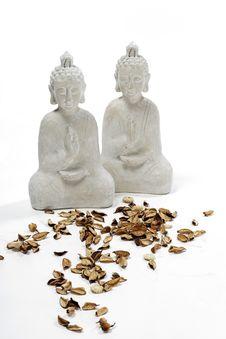 Free Budha Statues And Potpourri Stock Photos - 20585403