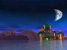 Free The Haunted Castle Stock Photography - 20585422