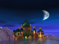 Free The Haunted Castle Royalty Free Stock Photo - 20585425