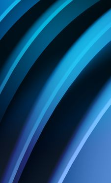 Free Blue Waves Abstract Background Royalty Free Stock Photo - 20585965