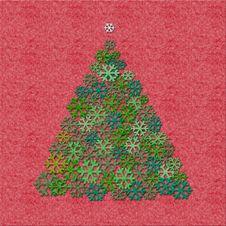 Free Felt Christmas Tree Stock Images - 20586084