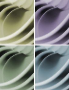 Free Blur Waves Abstract Background Royalty Free Stock Images - 20586169