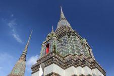 Free Wat Pho Thatian Pagoda Royalty Free Stock Photos - 20586458