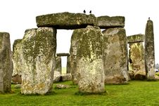 Free Stonehenge Royalty Free Stock Photo - 20586505
