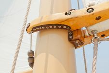Free Views Of The Private Sail Yacht. Stock Photography - 20586572