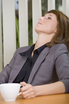 Free Relaxing Woman In Office Royalty Free Stock Photo - 20588585
