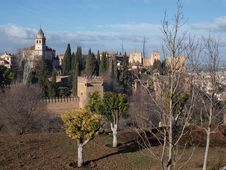 Free Alhambra Palace Granada Royalty Free Stock Photography - 20588897