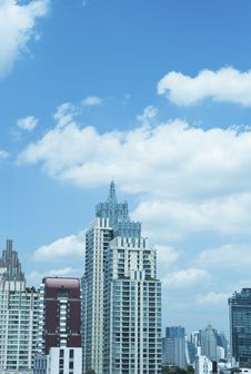 Free Building In Bangkok City Stock Photography - 20588902