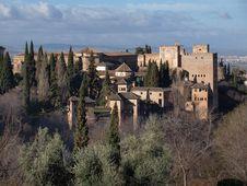 Free Alhambra Palace Granada Royalty Free Stock Photography - 20588917
