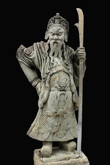 Free Chinese Statue Royalty Free Stock Photo - 20589185