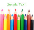 Free Close Up Of Color Pencils With Different Color Royalty Free Stock Photo - 20595905