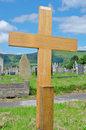 Free Wooden Cross Poor Pauper S Grave Royalty Free Stock Photography - 20596307