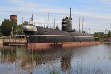 Free Docked Submarine Stock Photo - 20591870