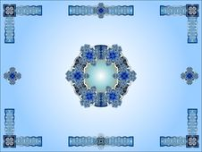 Free Blue Celtic Ornamental Design Stock Image - 20592031