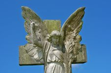 Free Angel And Cross Stock Photos - 20592513