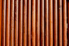 Free Simple Round Teak Wood Wall Royalty Free Stock Photo - 20592745