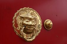 Free Metal Knocker Stock Photos - 20592753