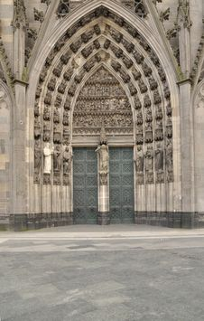 Free Cathedral Door Stock Image - 20592911