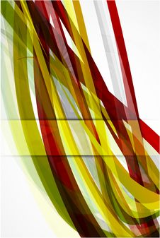 Abstract Red Lines  Background Royalty Free Stock Images