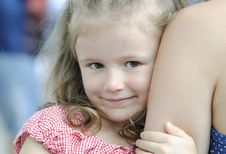 Free Little Girl Royalty Free Stock Photography - 20594267