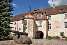 Free Medieval Castle In Jaunpils. Stock Photos - 20594523