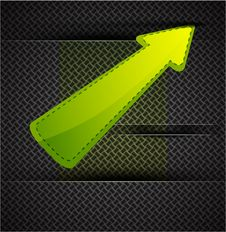 Free Vector Arrow Background Royalty Free Stock Photography - 20594577