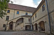 Free Medieval Castle Courtyard. Royalty Free Stock Images - 20594599