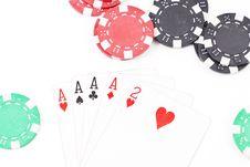Free Four Aces Stock Photos - 20594633