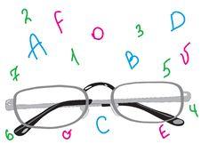 Free Beautiful Stylish Points For Sight Improvement. Stock Image - 20595171
