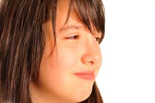 Free Italian Young Model Sad Girl Crying Royalty Free Stock Images - 20595329