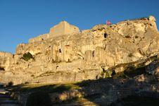 Village Of Les Baux-de-Provence Stock Photos