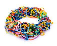 Free Handmade Beaded Bracelet Stock Image - 20595771