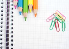 Free Set Of Pencils Stock Photography - 20595862