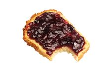 Free Bread With Jelly Royalty Free Stock Image - 20596166