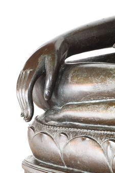 Free Hand Of Buddha Stock Image - 20597271