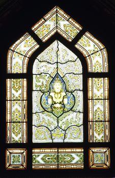 Free Thai Style Architecture Of The Window Royalty Free Stock Photos - 20597308