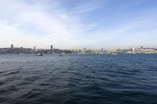 Bosphorus, Istanbul-Turkey Royalty Free Stock Photo