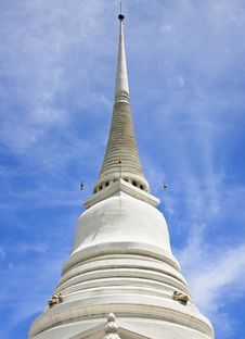 Free White Stupa Stock Photography - 20598942