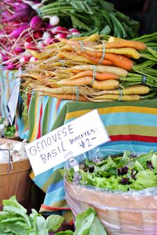 Farmer S Market Vegetables Royalty Free Stock Photography