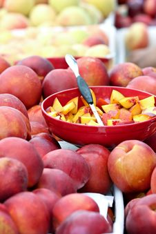 Free Nectarine Samples Royalty Free Stock Images - 20598989