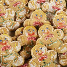 Free Gingerbread Background. Stock Images - 20599054