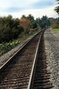 Free Looking Down The Track Stock Images - 2069644