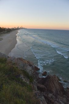 Free Surfers Paradise Royalty Free Stock Photo - 2060135