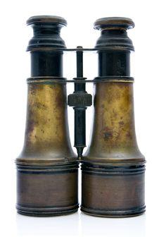 Free Old Napoleonic Binoculars Royalty Free Stock Image - 2060146